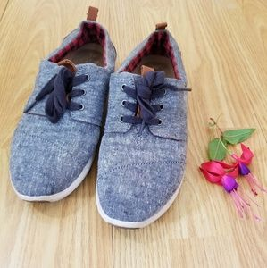 Toms ♡ Chambray Del Ray Sneakers